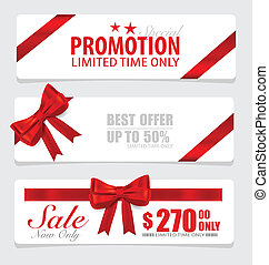End of year sale savings labels set, price tag, sale coupon,...