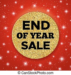 End of Year Sale vector promotion banner - End of Year Sale...