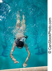 end swimming