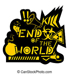 End world - Creative design of end world