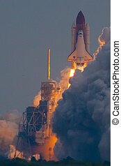 Endeavour STS-134 Launch - Lift off of NASA shuttle...
