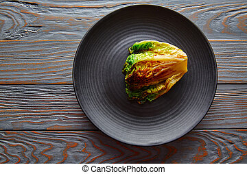 endive little Lettuce grilled with vinaigrette sauce on...