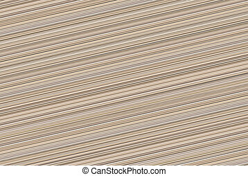 Endless background with diagonal beige lines drawing canvas stalk of bamboo