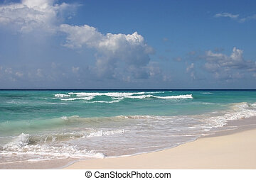 Endless - Dover beach, Barbados. September.