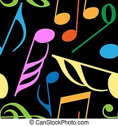Endless music pattern