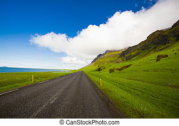 Endless road - Beautiful road in the incredible landscapes...