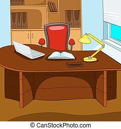 endroit, bureau