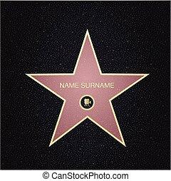 endroit, vue., étoile, name.top, renommée