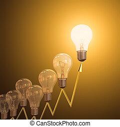 energía, alto, precios