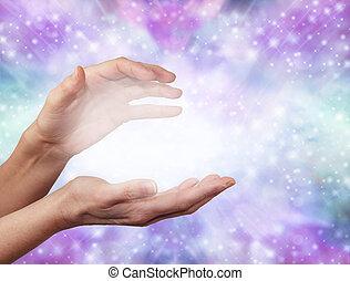 energía, angelical, curación, etéreo