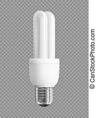 energía, bombilla, ahorro, luz