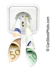 energía, costes