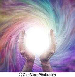 energía, divino