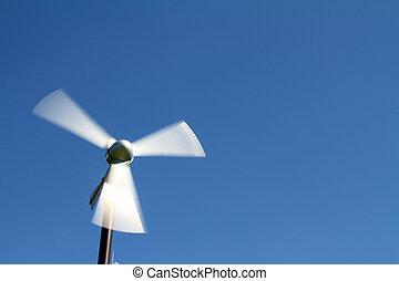 energía eólica, generación