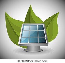 energía, ecología, verde