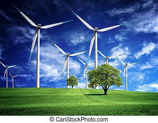 energía, invenciones