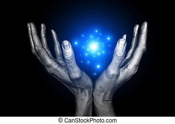 energía, mágico