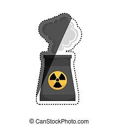 Planta Potencia Energía Nuclear Ambiente Hogar 10 Planta