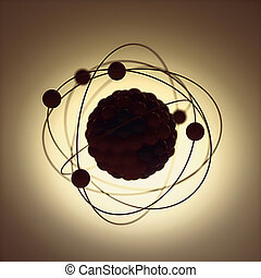energía nuclear, poder atómico
