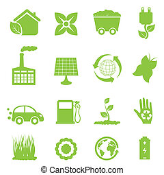 energía, reciclaje, limpio