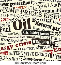 energía, titulares