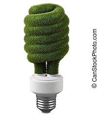 energía, verde