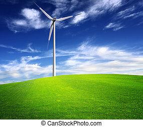 energía, viento