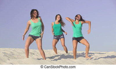 Energetic girls