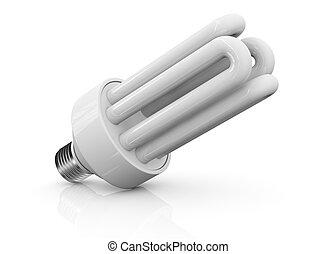 energi, besparing, lampa