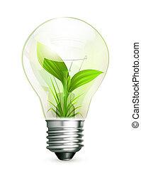 energi, grön