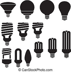 energi saving bulb lamp - suitable for user interface or...