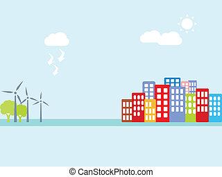 energia alternativa, limpo