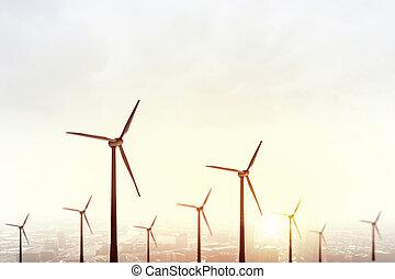 energia alternativa, vento