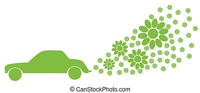 energia alternativa, vettore, fondo