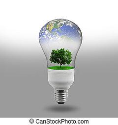 energia, conceito, renovável