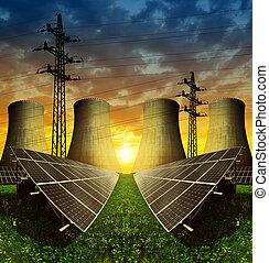 energia, concetto, risorse