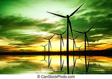 energia, ecologia, invenções