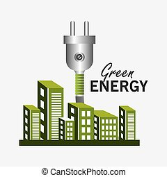 energia, ekologia, zielony