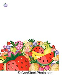 energia, frutta, disegno, tuo, fondo