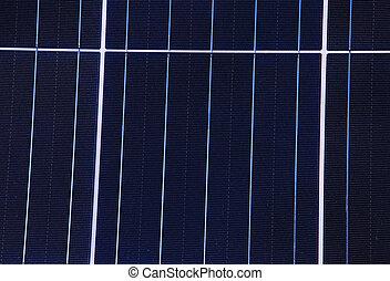 energia, fundo, solar