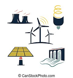 energia, jogo, indústria