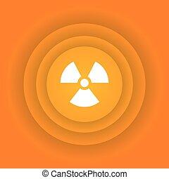 energia nuclear, ícone