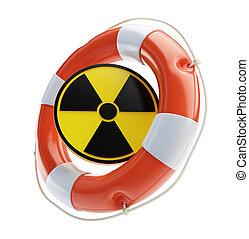 energia nuclear, salvamento