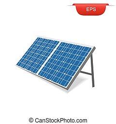 energia, painel, solar, renovável
