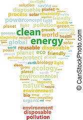 energia, pulito