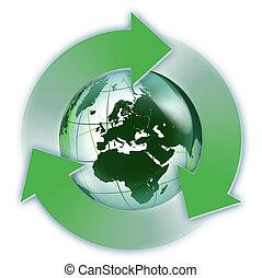 energia renovável, em, a, europa