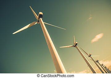 energia, rinnovabile, vento
