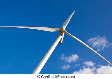 energia vento, turbina, centrale elettrica