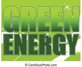 energia, zielony