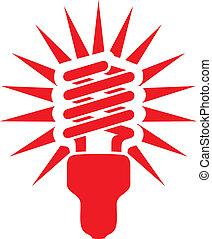 energie, besparing, gloeilamp